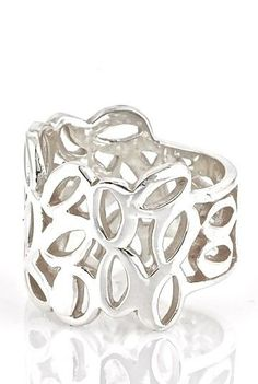 Tapestry Silver Ring