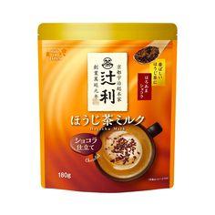 KATAOKA-Tsujiri-Hojicha-Milk-Chocolate-Made-in-Japan2 Matcha Milk, Matcha Green Tea, Calcium Phosphate, Whey Powder, Breakfast Toast, Powdered Milk, Yummy Drinks, Latte, Fragrance
