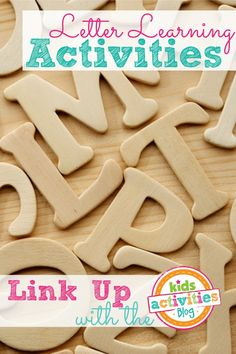 Letter Learning Activities ~ Add Yours - Kids Activities Blog