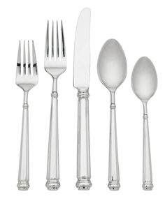 kate spade new york Abington Square 5-Piece Place Setting - Flatware & Silverware - Dining & Entertaining - Macy's