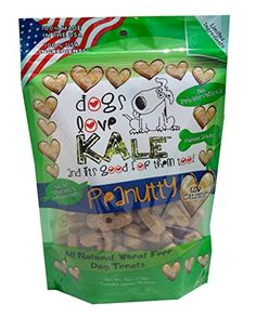 Dogs Love Kale Pea nutty Pet Snacks,6 oz. -- You can get more details by clicking on the image.(It is Amazon affiliate link) #cute