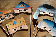 Printable Purim Masks for Kids