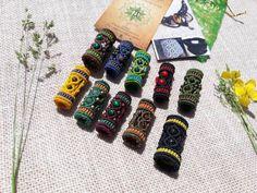 Dreadlock Beads, Dread Beads, Dreads, Macrame Thread, Macrame Dress, Micro Macramé, Tree Of Life Pendant, Forest Friends, Macrame Patterns