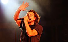 """Fans of The Who saw the real Eddie Vedder during a concert in Chicago on Wednesday night. Vedder, who one night earlier sang """"Take Me Out to the Ball Game"""" during a Cubs game, helped The Who perform """"The Real Me."""""""