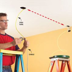 How to Trace Electrical Wiring in a Wall | New construction ...