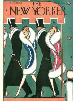 Stanley W. Reynolds : Cover art for The New Yorker 89 - 30 October 1926
