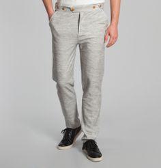 #Pantalon #Benito #GrisLéger #Homecore en vente chez #LException