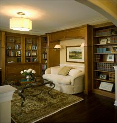 ** Elegant Library/Office #2 **   ::Interiors by Donna Hoffman::