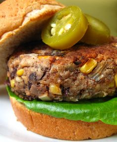 Black Bean Veggie Burgers | PETA.org I will make these with dairy free bread crumbs and whole wheat flour