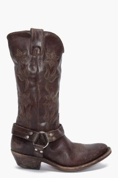 Women's Tan Puma Cow Boot- L2561, because Courtney says I can pull ...