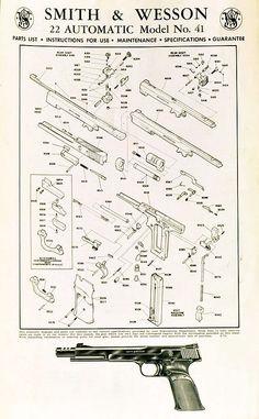 exact edge extractor for s w model 41 volquartsen firearms smith rh pinterest com SW 41 Parts SW 41 Review