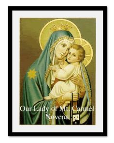 Our Lady of Mt. Carmel, pray for us.