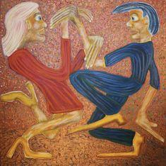 Grooving/Maarit Korhonen, 100cm x 100cm, acrylic, oilstick, canvas. Original Art For Sale, Artists Like, Saatchi Art, Disney Characters, Fictional Characters, Sculptures, Art Prints, Disney Princess, Canvas