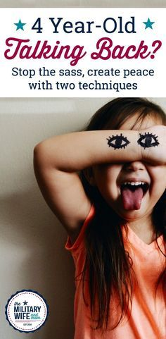Whether you're dealing with a 3 year-old talking back, a 4 year-old talking back or a 12 year-old talking back, these two powerful techniques are simple and can completely change the dynamics with your child.