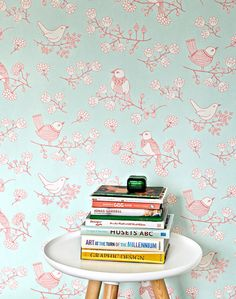 Sugar Tree | Floral wallpaper | Wallpaper patterns | Wallpaper from the 70s