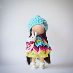#doll #decor #design #home #happy #handmade #love #fiori_ua #follow #knitt…