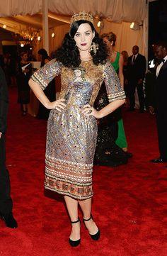 Katy Perry at Met Gala 2013
