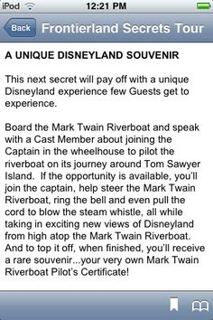 Disneyland Secrets Notescast