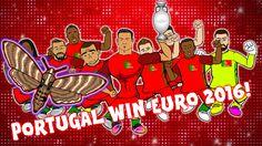 PORTUGAL WIN EURO 2016! (Portugal vs France The Final: 1-0 Ronaldo Eder ...