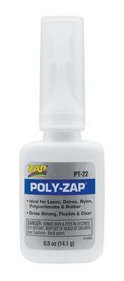 Zap Adhesives Poly Zap 1/2 oz