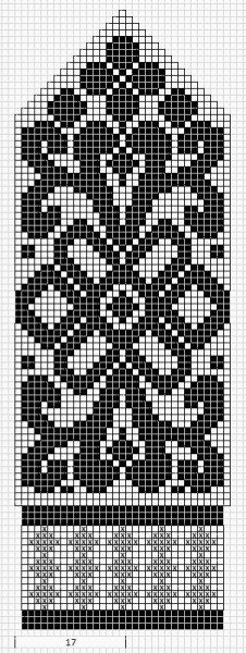 Mustrilaegas: Labakinnas fair isle knit chart beautiful More mitten patterns at this site. Knitted Mittens Pattern, Fair Isle Knitting Patterns, Crochet Mittens, Bead Loom Patterns, Knitted Gloves, Crochet Stitches Chart, Knitting Charts, Knitting Socks, Knitting Stitches