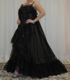 Plus Size Vintage, Plus Size Lingerie, Vintage Lingerie, Night Gown, Baby Dolls, Satin, Lace, Sexy, Skirts