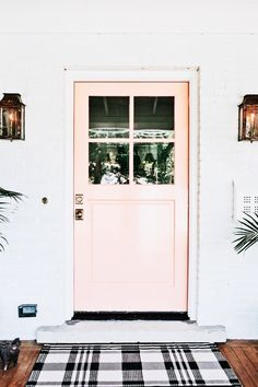I am changing my front door color! I gravitate towards blues but just to be sure I found 15 farmhouse front door favorites to inspire this creative process. Front Door Paint Colors, Painted Front Doors, Colored Front Doors, Colored Door, Coral Front Doors, Exterior Design, Interior And Exterior, Interior Doors, Exterior Paint