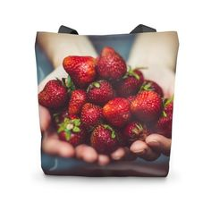 The tote bag is just the perfect gift for any occasions. Made of heavyweight cotton canvas, with reinforced handles and seams, it can support heavy items.