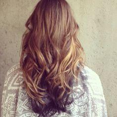Love my fall hair!