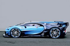 Bugatti Chiron. It appears that supercars are getting fugly but with a top speed of 311mph, I'll make an exception.
