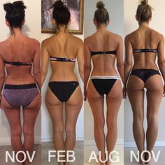 """Tag a Friend You Want to Help Motivate @madalingiorgetta """"Let your own progress be you own motivation November 2015 --> November 2016 I'm sick and tired of comparing my body to other bodies that I deem more """"beautiful"""" and """"desirable"""" than my own This is my body and I've worked freaking hard to get to where I am today, I'll be damned if right now I can't just love me for me ❤️ I'm not working my butt off in the gym to achieve someone else's body, because that will never happ..."""