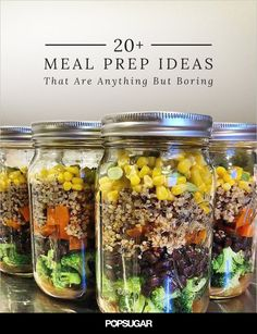 20 #MealPrep Ideas That Are Anything but Boring