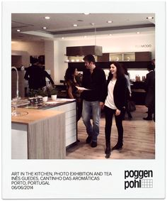 Art in the Kitchen, photo exhibition and tea