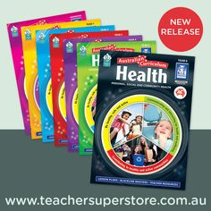 Australian Curriculum Health by R.I.C. Publications is a seven-book series designed to support the teaching and learning of the Personal, Social and Community Health strand of Australian Curriculum Health and Physical Education.  Written in lesson-plan format, the series provides a variety of teacher resources to assist in the implementation of health lessons.