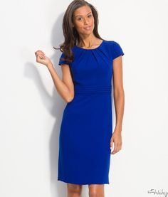 work dress with sleeves - Google Search