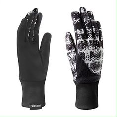 NIKE WOMENS ELEMENT THERMAL 2.0 RUNNING GLOVE REDUCED NO TRADES The Nike Women's Element Thermal 2.0 running gloves help keeps out the cold while you keep up the pace. The combination of soft insulated fabric and reflective graphics enhance warmth and visibility on those dark, winter runs.  THESE ARE NOT FITTED AND HAVE PLENTY OF ROOM IN THEM REGARDING SIZING Nike Accessories Gloves & Mittens