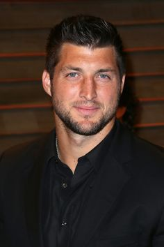 From the Broncos to the Jets, we don't care who Tebow plays for as long as we can still ogle him on the field. Tim Tebow, Sports Celebrities, Celebs, Scruffy Men, Handsome Man, Nose Hair Trimmer, Face Care Tips, American Football Players, Goodies