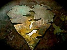 El corazón del sahara de Vaneski , tras el proceso de soldadura