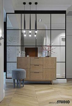 ELEGANCKI KORYTARZ contemporary design elegant corridor by mikolajskastudio