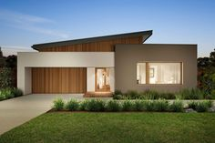 Urbanedge homes: sala design tampa homes, modern house design, modern house Modern House Facades, Modern House Plans, Modern House Design, House Floor Plans, House With Porch, House Front, Modern Exterior, Exterior Design, Facade House