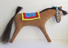 Native American Indian style horse pony doll by MokiTradingPost