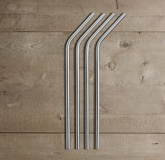 Straws of Steel | How great are these?  ....No more wasted money on plastic ones and so much better for the landfills!