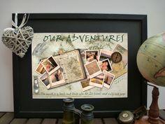 Personalised Memories - Anniversary Birthday Honeymoon Wedding Gift Present £59.00