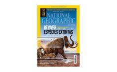 NG - A matéria de capa da edição de abril de NATIONAL GEOGRAPHIC BRASIL aborda o tema da desextinção