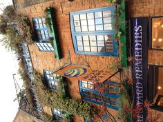 Neal Yard Remedies original shop in Covent Garden, London LOVE THIS SHOP!!!  Neal's Yard is a beautiful place.