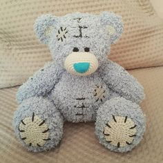 crochet bear metoyou amigurumi