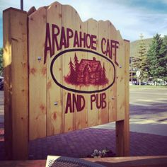You gotta try Doug Pierce's ribs at Arapahoe Cafe in Dillon.