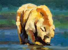 """Blue Bear"" Diane Whitehead  $575"