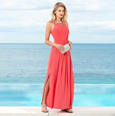 Forever New Ruby Embellished Maxi Dress Dress Up Day, Mom Dress, Forever New Dress, Summer Mother Of The Bride Dresses, Holiday Fashion, Holiday Style, Teen Fashion, Fashion Beauty, Dress Outfits