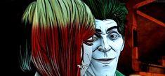 Harley Quinn and Bruce Wayne intense moment and Jealous John Doe ( joker ) from batman the enemy within episode 3 (part Batman Telltale, Tales From The Borderlands, The Enemy Within, John Doe, Detroit Become Human, Joker And Harley Quinn, Life Is Strange, Episode 3, Gotham City